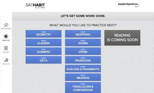 SAT Habit – edshelf