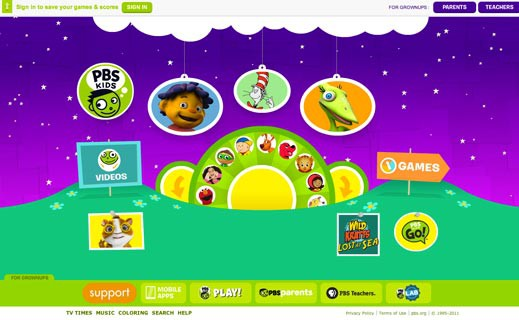Pbs Kids Org Games To Play