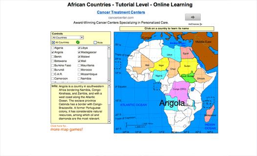 Sheppard Software Reviews Edshelf - Sheppard software us map