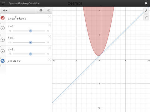 how to make a table on desmos