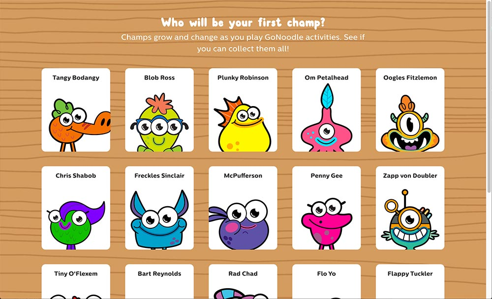 gonoodle monsters coloring pages - photo#30