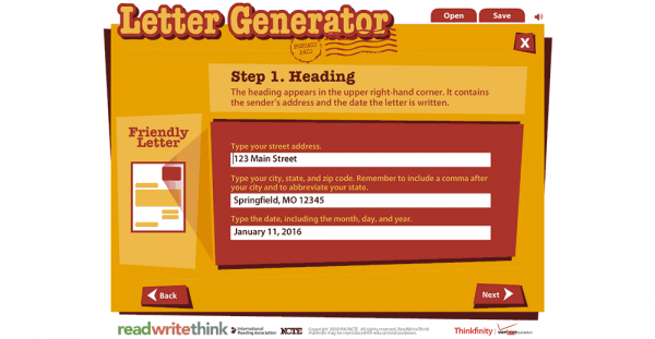 letter generator read write think