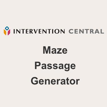 Maze Passage Creator Reviews Edshelf