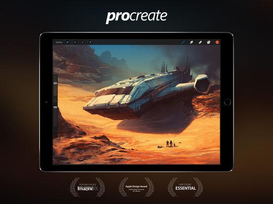 procreate sketch paint create reviews edshelf