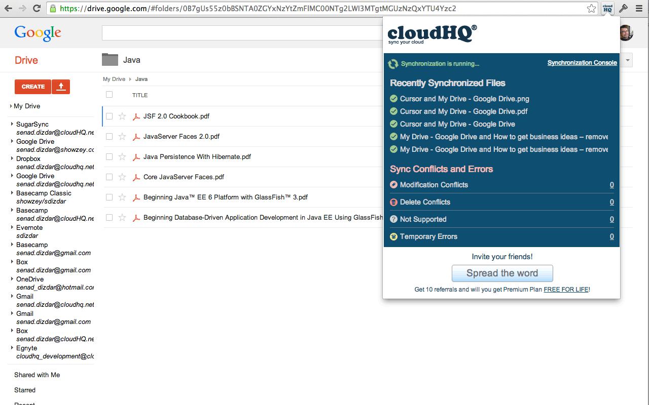 cloudHQ – edshelf