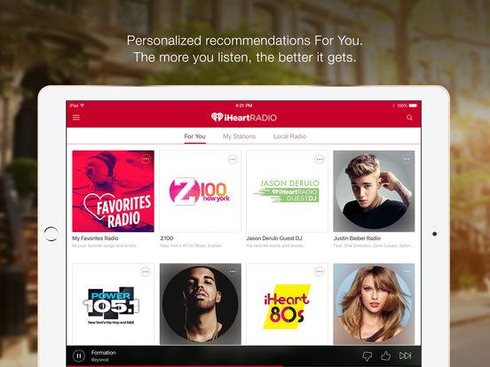 iHeartRadio – Free Music & Radio Stations Reviews   edshelf