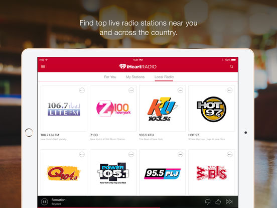 iHeartRadio – Free Music & Radio Stations – edshelf