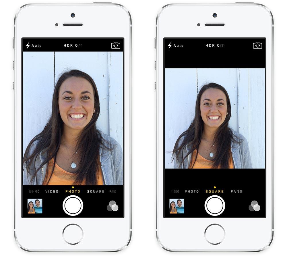 Как отредактировать фото чтобы было видно что сфоткана с айфона