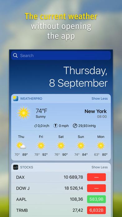 Weatherpro Premium Account