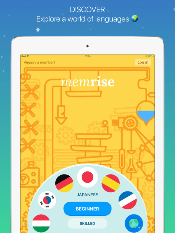 Memrise: learn languages free – edshelf