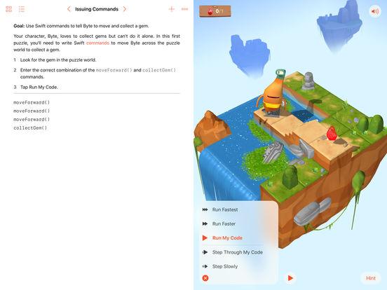 Swift Playgrounds – edshelf