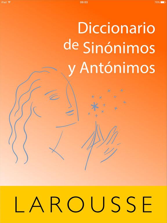 Larousse Synonyms and Antonyms - edshelf