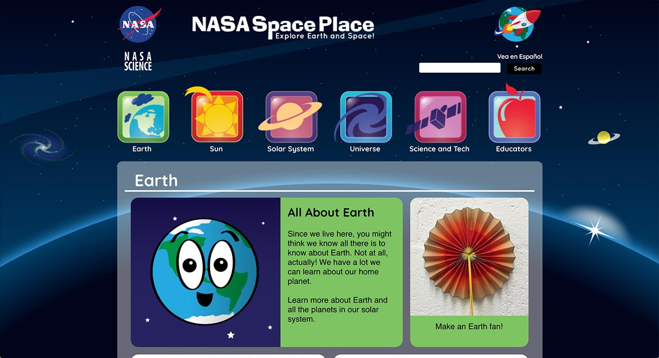 nasa space place - 1321×719