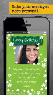 Appygraph ecards send personalized birthday greeting love photo appygraph ecards send personalized birthday greeting love photo cards by messaging apps facebook email or postal mail m4hsunfo
