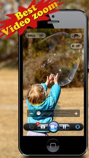 Video Zoom Pro: HD Camera with Live Zoom, Effects, Pause and
