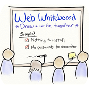 a web whiteboard review
