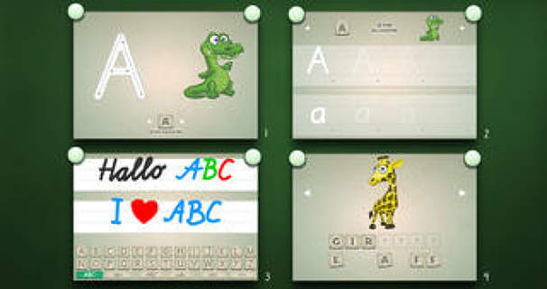 Preschoolers ABC Playground PRO – A Read and Write Learning