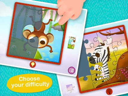 Wildlife Jigsaw Puzzles 123 for iPad Free – Fun Learning