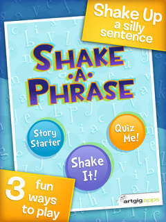 Shake-a-Phrase: Fun With Words and Sentences – edshelf