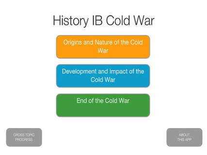 ib history essay questions cold war