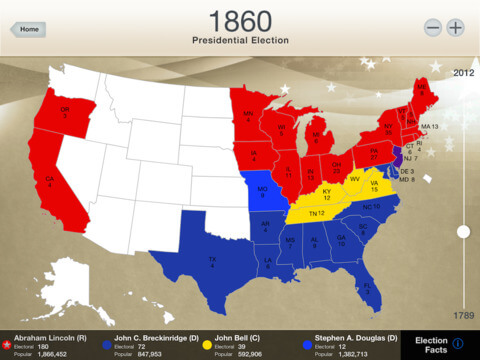 Presidential Election Interactive Map Reviews Edshelf - Us electoral map interactive