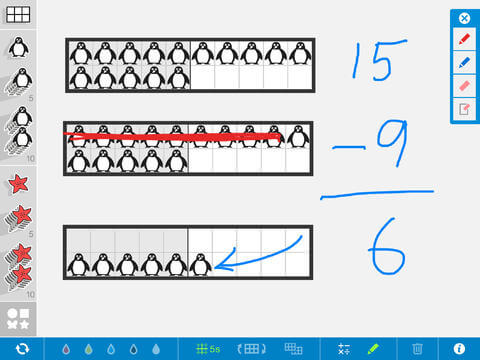 Number Frames, by the Math Learning Center Reviews | edshelf