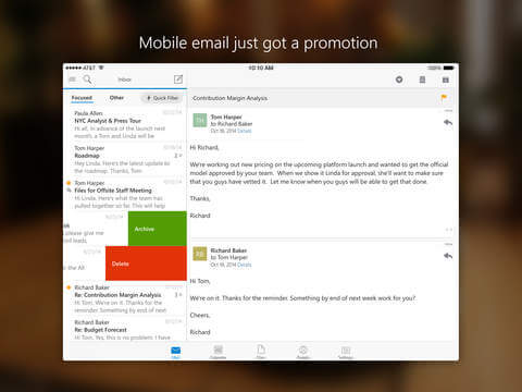 how to delete phone partnerships outlook web app