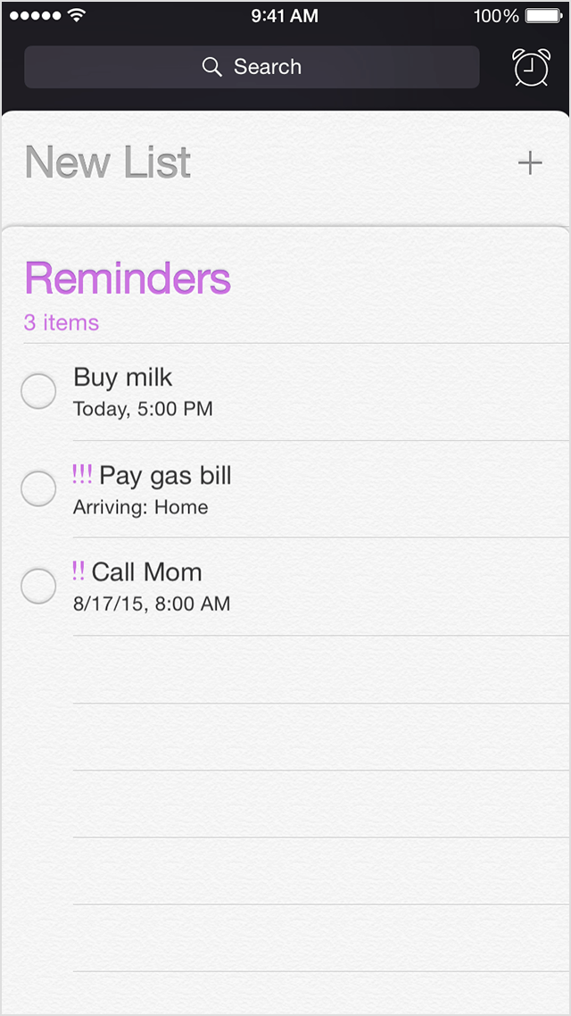 how to create a scheduled reminder on mac