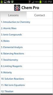 Chem Pro Reviews   edshelf