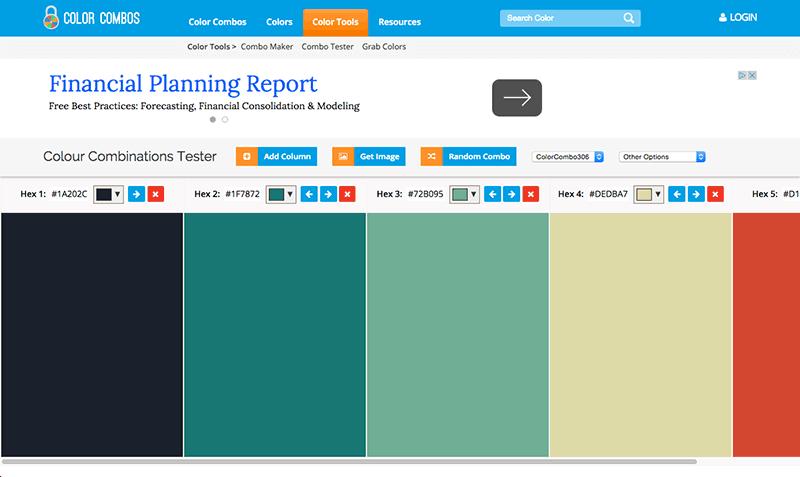 Color Combo color combos reviews | edshelf