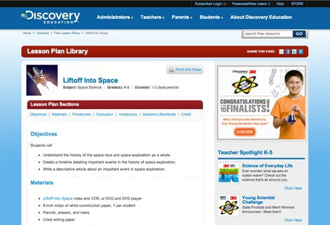 Discovery Education For Student Assignment & Assessment