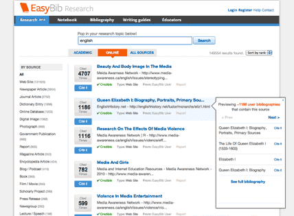 easybib reviews edshelf easybib
