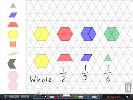 Common Worksheets » Pattern Block Worksheets - Preschool and ...