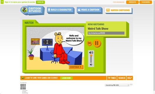 Pbs Kids Cartoon Studio Edshelf