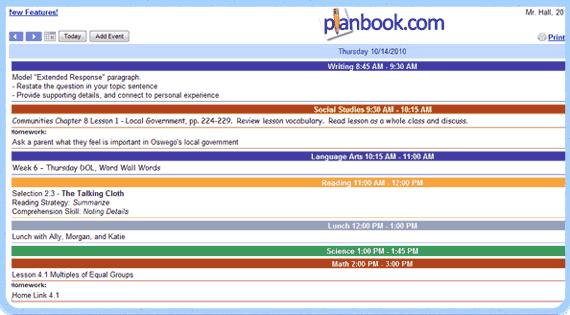 Planbook Reviews Edshelf
