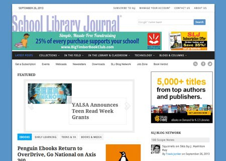 School Library Journal – edshelf