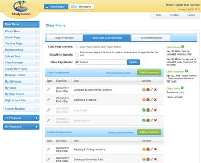 Copy of Study Island in the Classroom