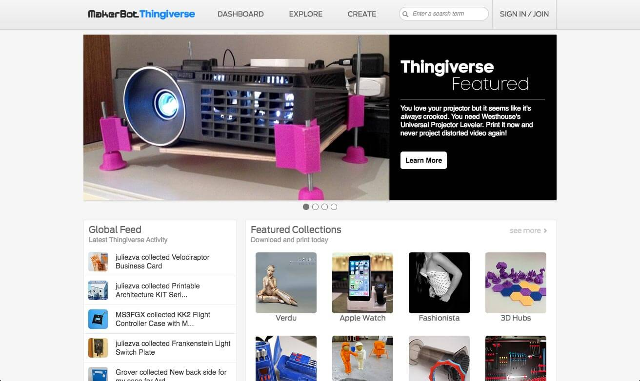MakerBot Thingiverse Reviews | edshelf