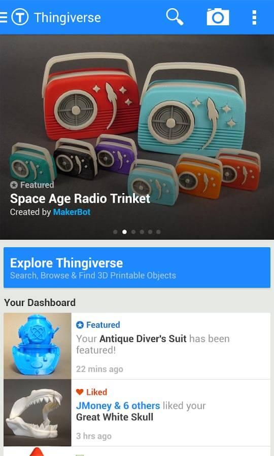 MakerBot Thingiverse – edshelf