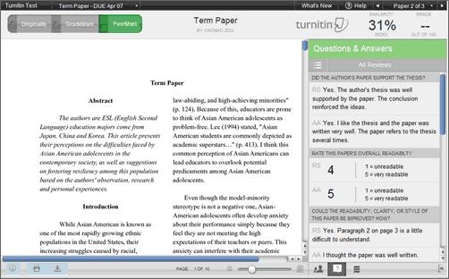 Custom essay turnitin