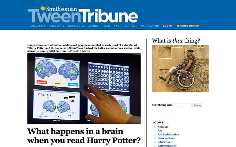 Smithsonian Tween Tribune